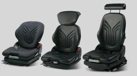 variety of seats