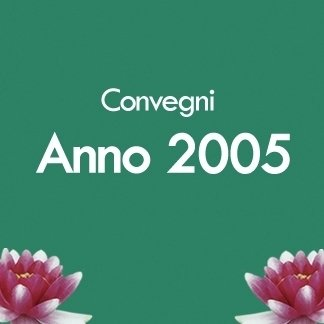 convegni anno 2005