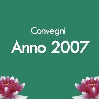 convegni anno 2007