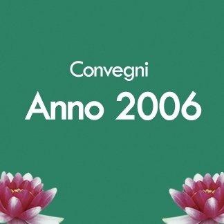 convegni anno 2006