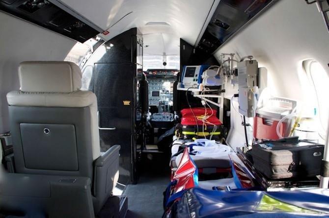 interno aereo sanitario