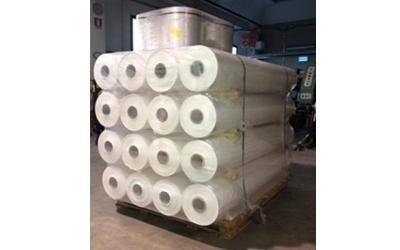 pallet di rulli di carta