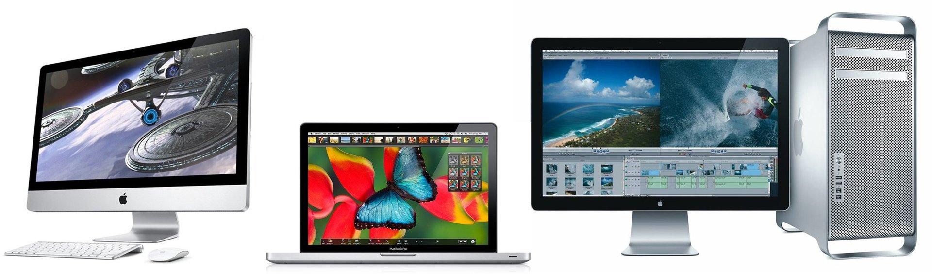 Mac bianchi e grigi