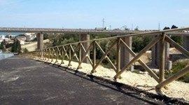 recinzioni in legno pubbliche