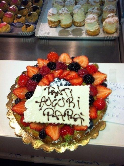 torta con fragole Pasticceria Genova  LECCAJE DADOIA