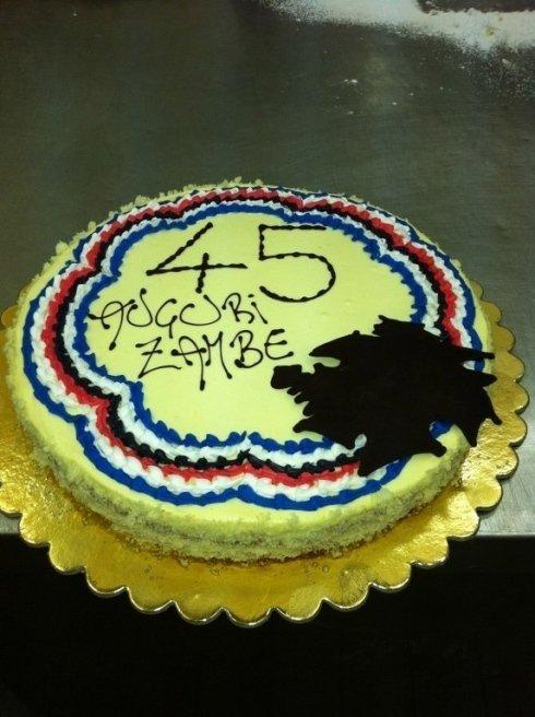 torta di compleanno asticceria Genova  LECCAJE DADOIA