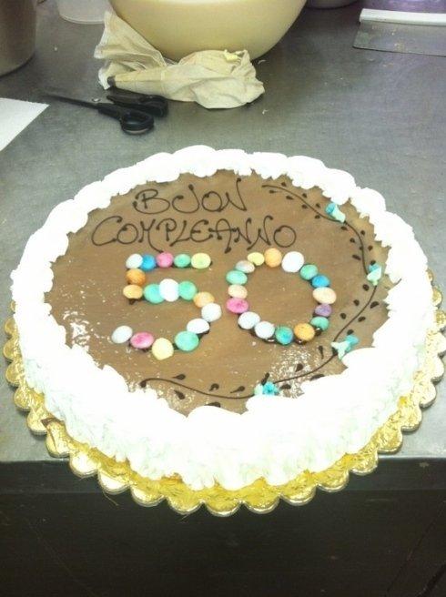 torta compleanno asticceria Genova  LECCAJE DADOIA