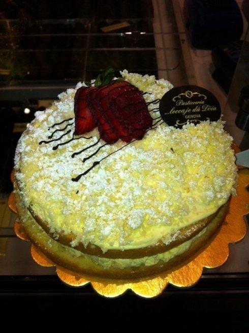 Torta farcita Pasticceria Genova