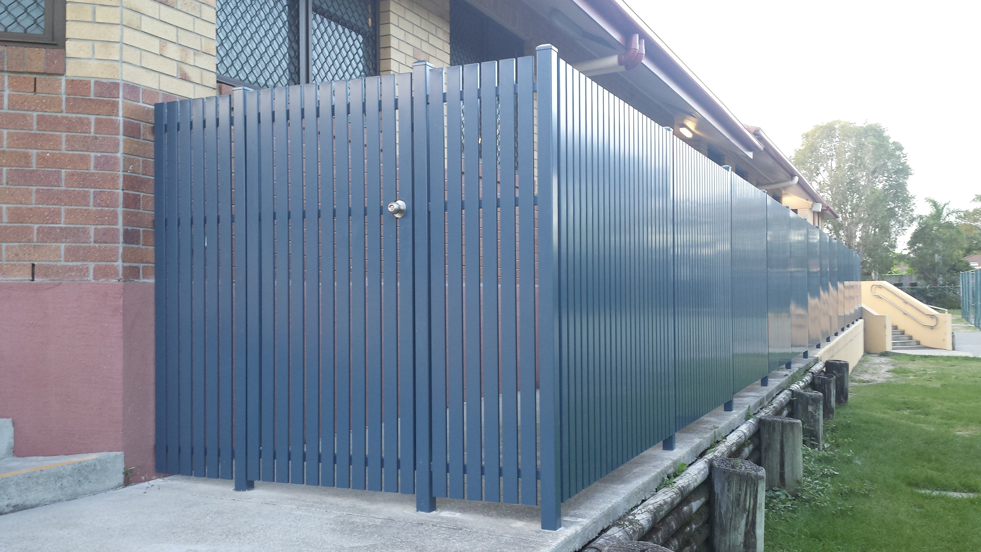 kelmac fencing and gates wooden privacy screen slats