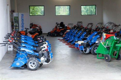 macchine per il giardinaggio e per l'agricoltura