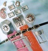 Accessori per pelletteria in argento