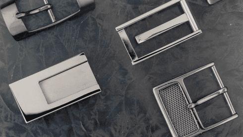 Produzione fibbie metalliche per cinture