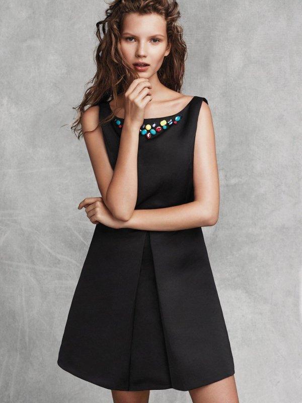 abito nero Liu Jo