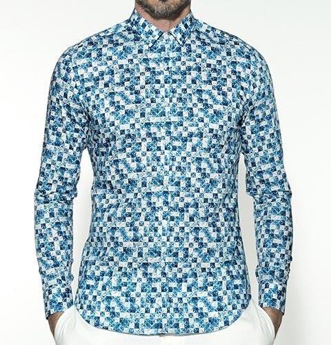 Camicia fantasia Xacus