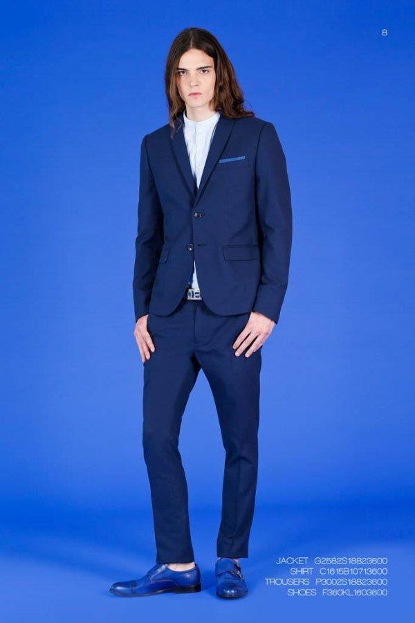 abito blu Alessandrini