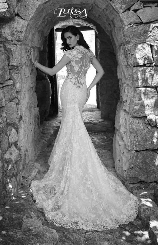 vestito elegante sposa