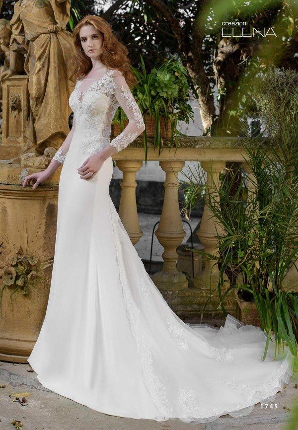 abito maniche sposa