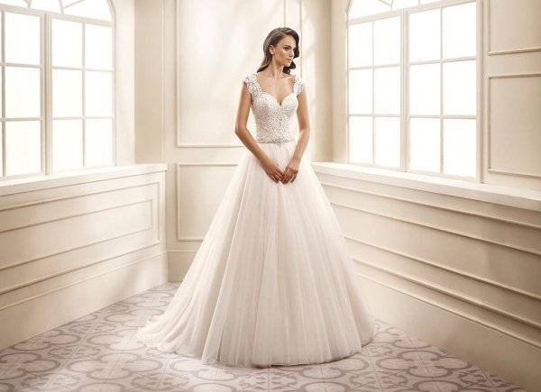 abito tulle pizzo