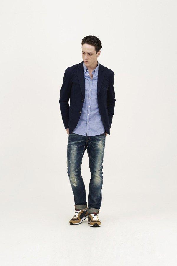 Jeans e giacca Sun68