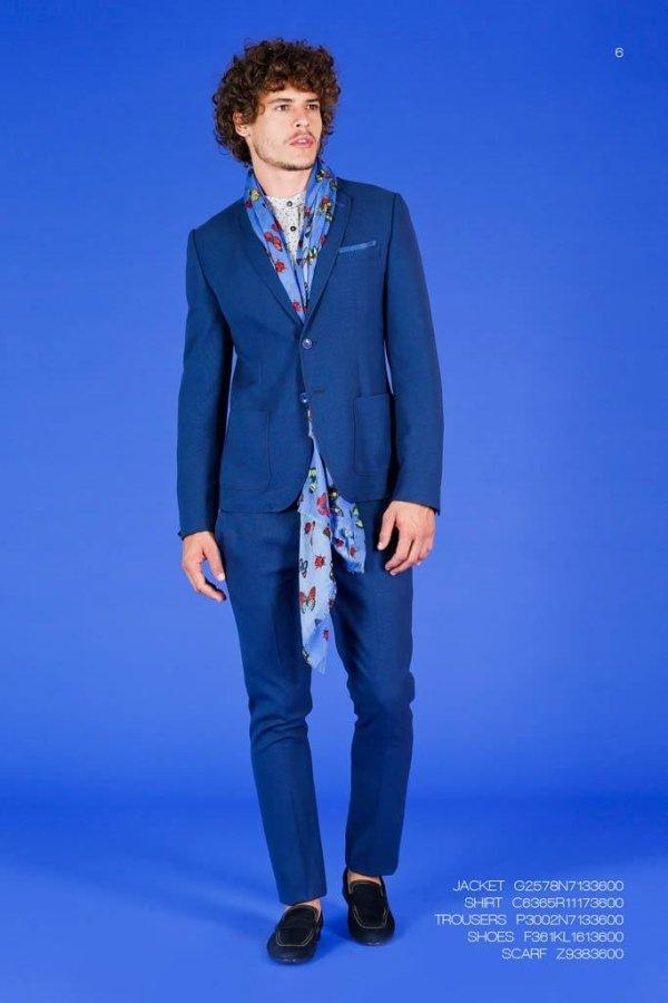 vestito blu Alessandrini