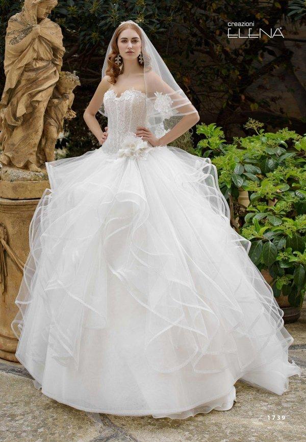 vestito sposa velo