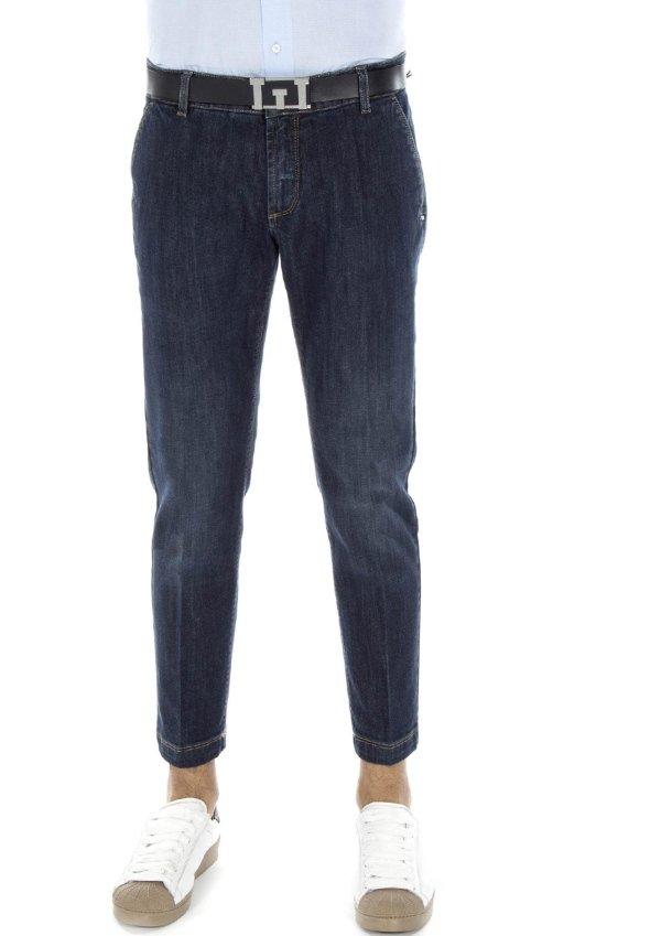 Pantaloni con risvoltini
