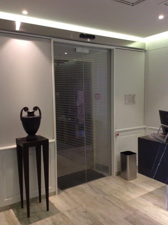 porta d'entrata automatica