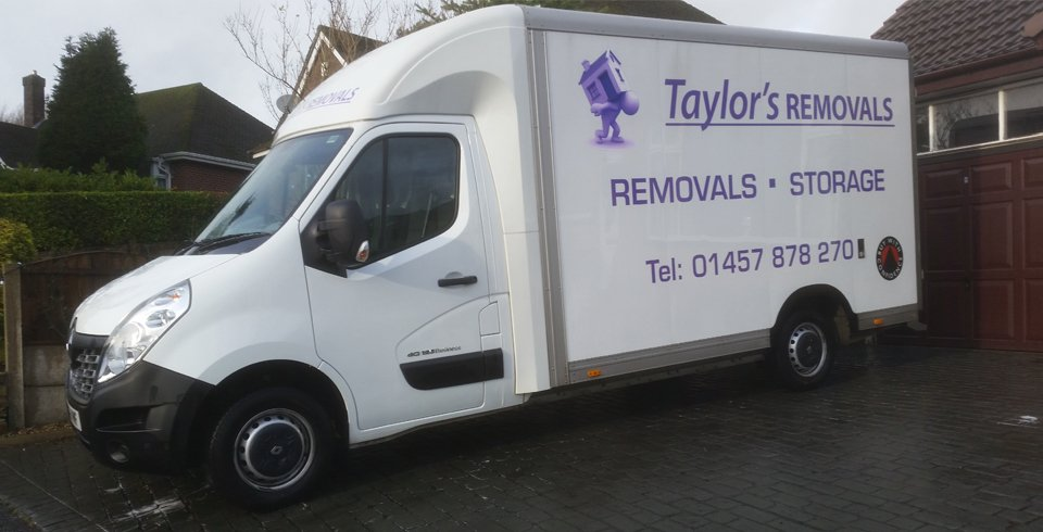 Taylor's Removal vehicle