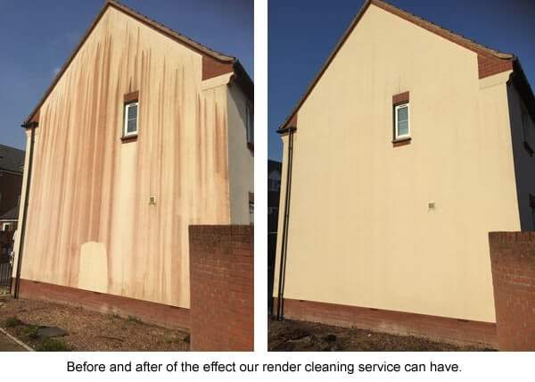 Render Cleaning in Lancashire.