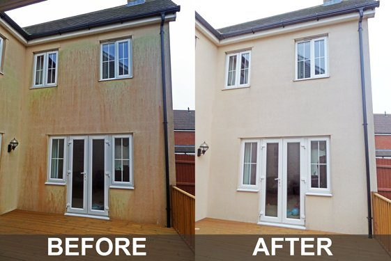 Render cleaning in Manchester