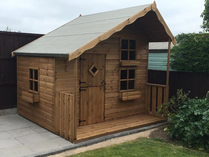 We Have A Range Of Childrens Playhouses In Coalville