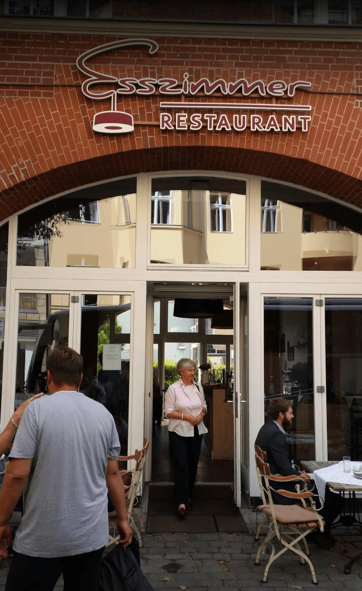 Esszimmer restaurant berlin for Esszimmer berlin restaurant