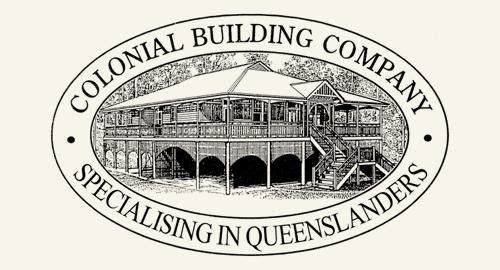 colonial logo black footer