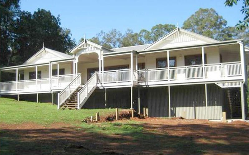 Replica queenslander house plans escortsea for House building companies
