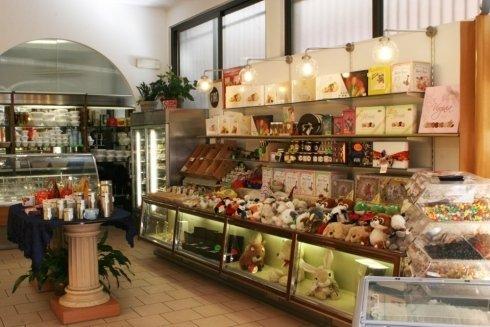 Articoli in vendita nella pasticceria