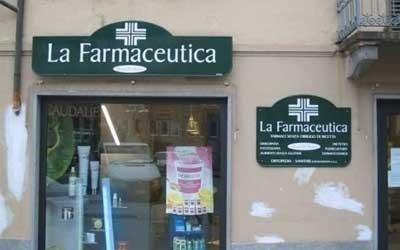 Insegna Farmacia: Monofacciale