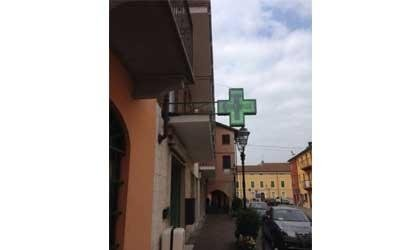 Réalisation croix pour pharmacie