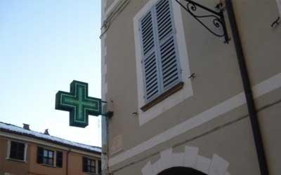 Réalisation croix à led pour pharmacie