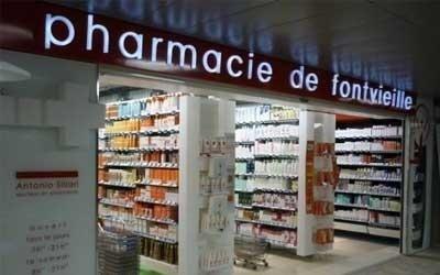 Insegna Farmacia: scatolata in PMMA