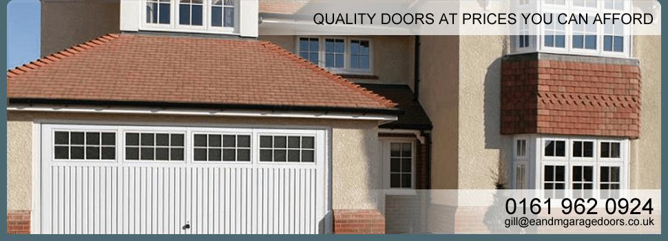 Garage Door Suppliers Manchester E M Garage Doors