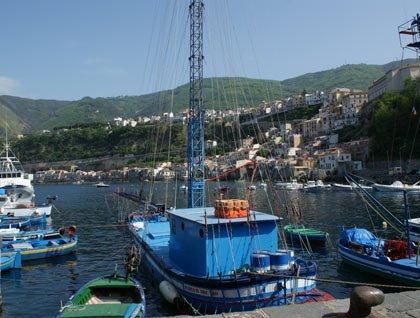 Delle barche in un porto