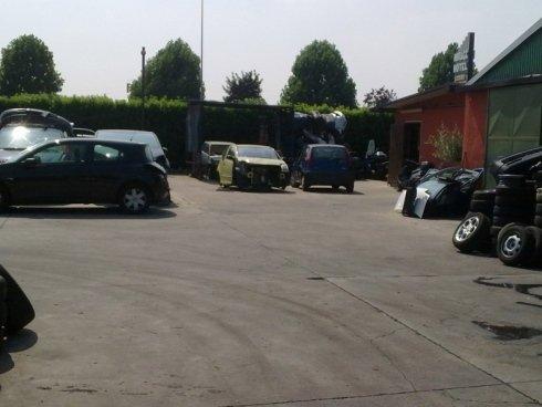 parcheggio di un rottamatore