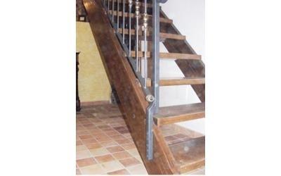 Scale metallo legno