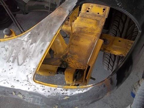 Ripristino carrozzeria Barchetta