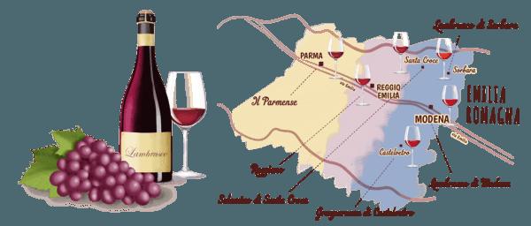 Vini emiliani