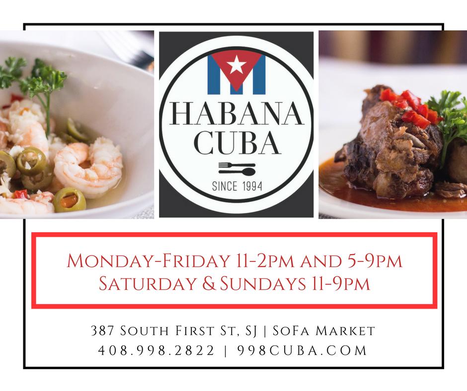 Cuban Restaurant In San Jose Downtown