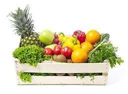 Obst und Gemüse in Bologna