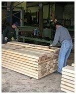 taglio travi in legno