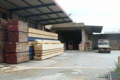 deposito coperto legname