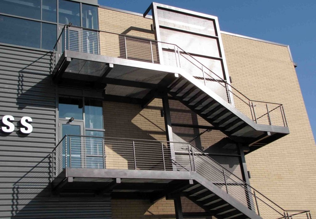 External Steel Fire Escape/staircase In Leeds